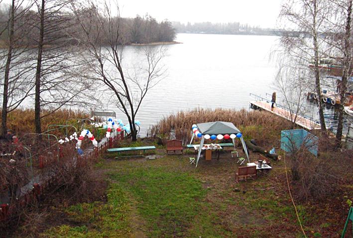 панорама у клуба моржей